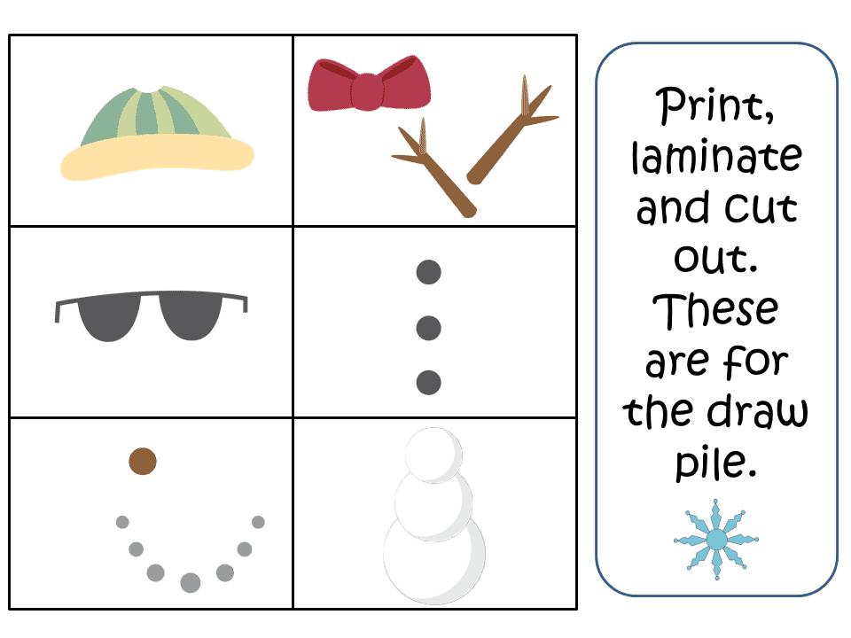 Build A Snowman Articulation Game