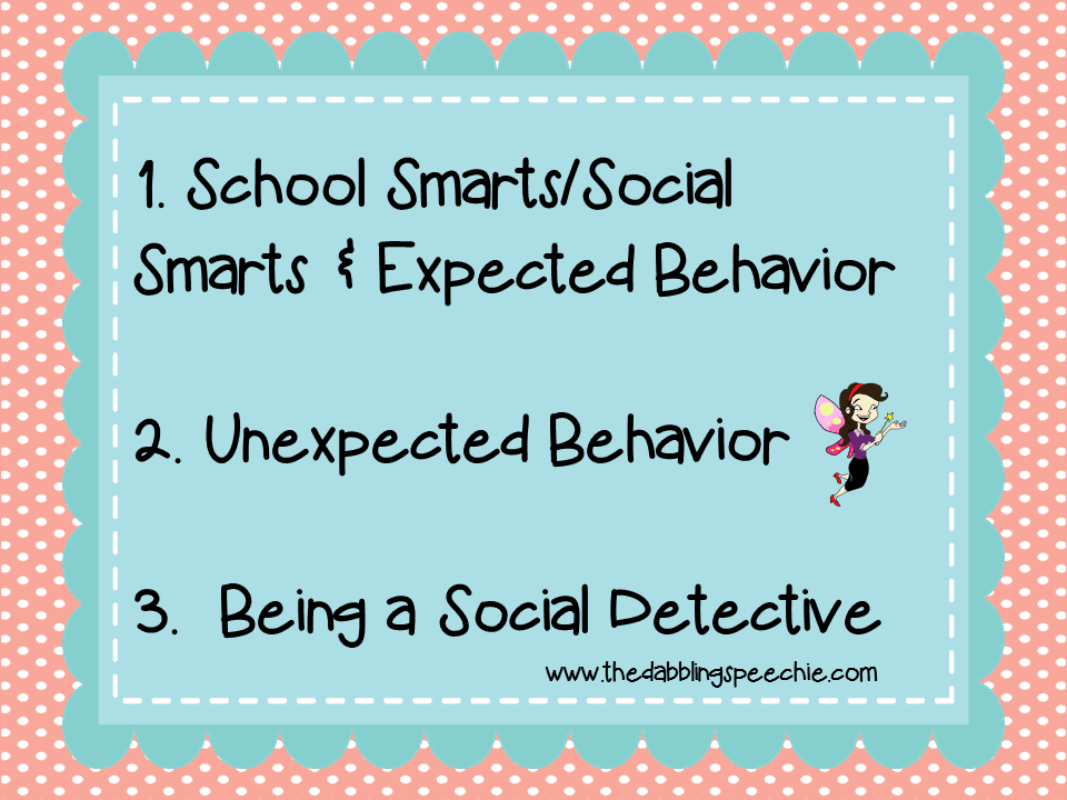 You Are A Social Detective Review with FREEBIES – Social Thinking Worksheets