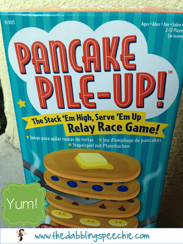 Pancake Pile Up For Speech Therapy Thedabblingspeechie