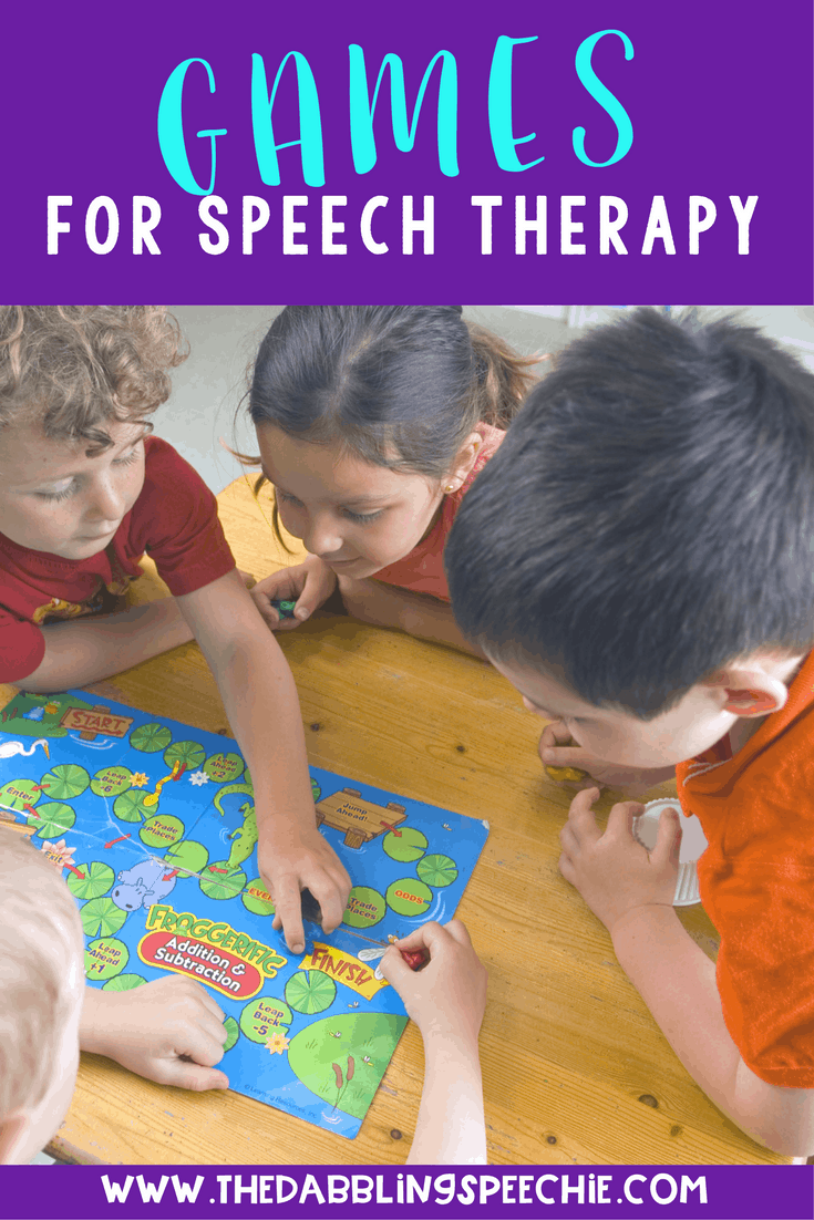 fun ways to adapt popular games for speech therapy. You can take lots of games and target articulation, stuttering, language, and social skills!