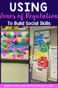 Using the Zones of Regulation to Build Social Skills