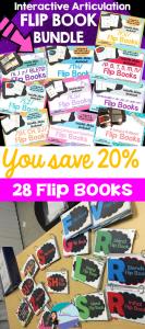 My Newest Interactive Articulation Flip books & a BUNDLE..eeekkkk!