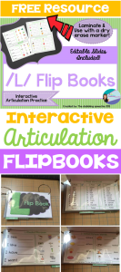3 Ways I Use My Interactive Articulation Flip Books & a SURPRISE!