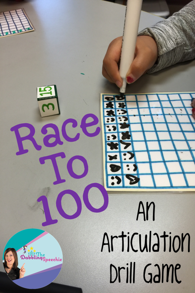 race to 100 articulation game