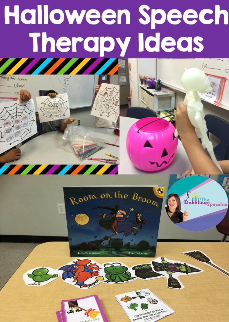 Halloween Speech Therapy Ideas My Spooky Week Of Fun