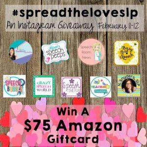 #spreadtheloveslp  Easy Valentine's Day Activities & An Instagram GIVEAWAY!