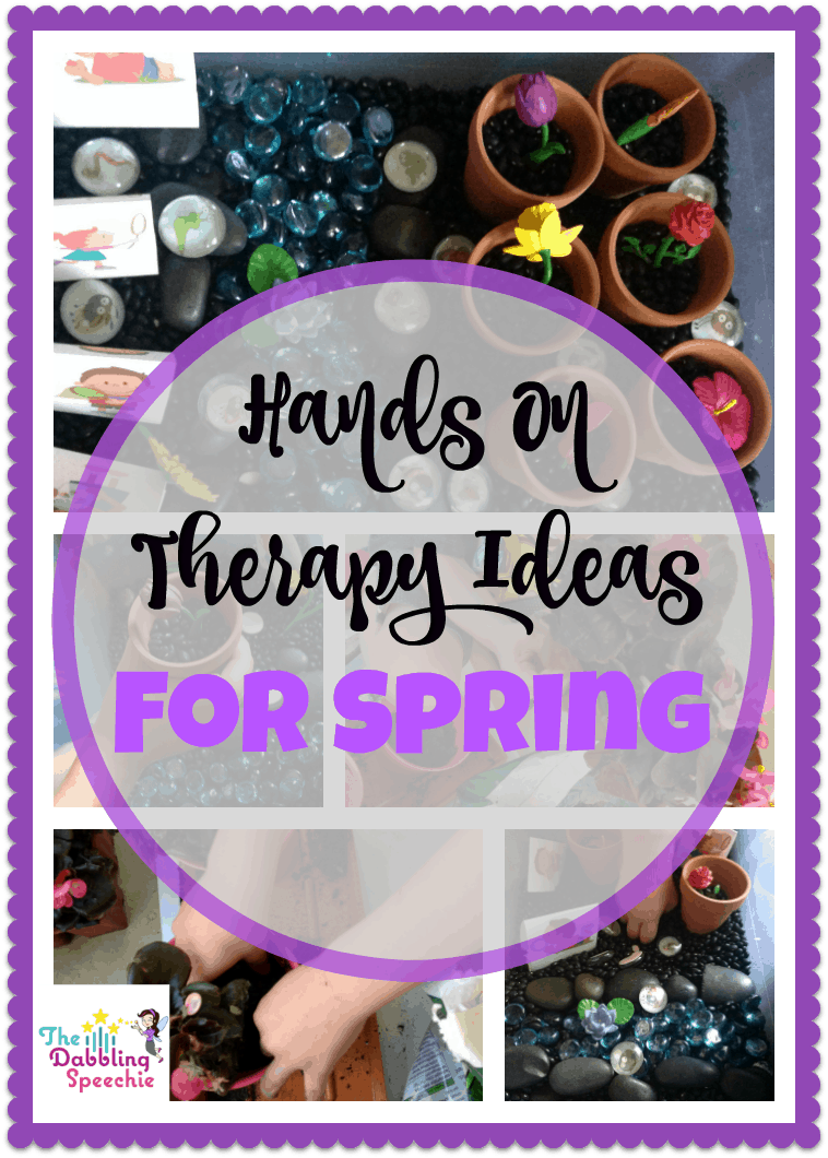 hands on therapy ideas for spring