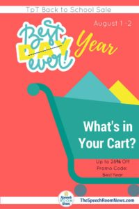 Best Year Ever-BTS TPT Sale Linky Party
