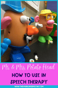 Mr. & Mrs. Potato Head In Speech Therapy
