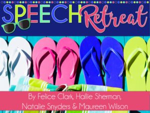 Professional development for speech therapists