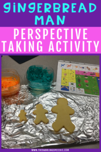 Gingerbread Man Perspective Taking Activity
