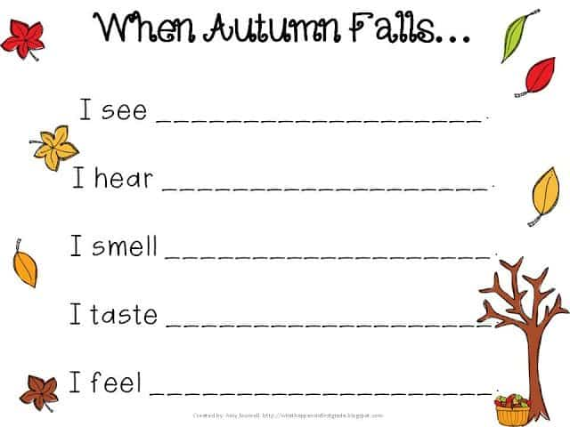 Fall Into Speech & Language Ideas & Resources