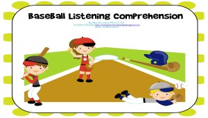 Baseball Listening Comprehension_Page_01