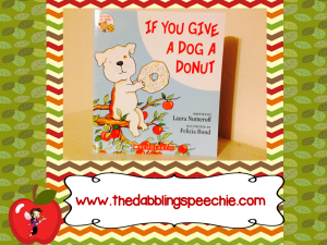dog a donut