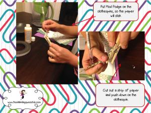 glue clothespin