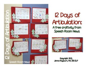 Easy Holiday Crafts For Speech Therapy