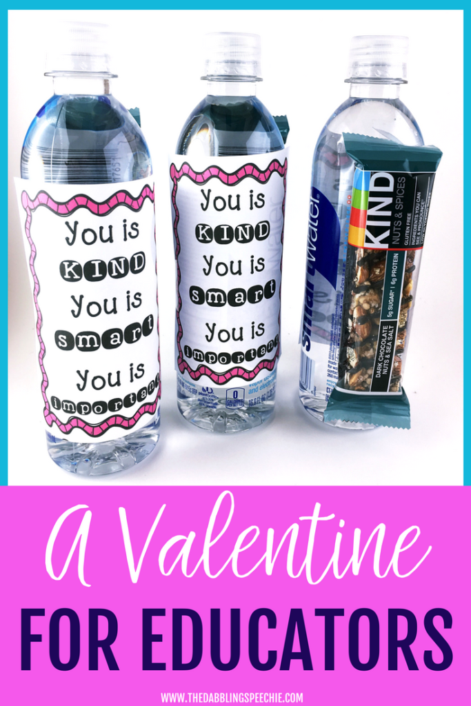 A Valentine's Gift For Educators inspired by the movie and book The Help