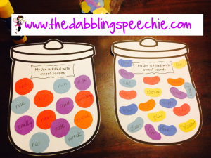 speech therapy craft