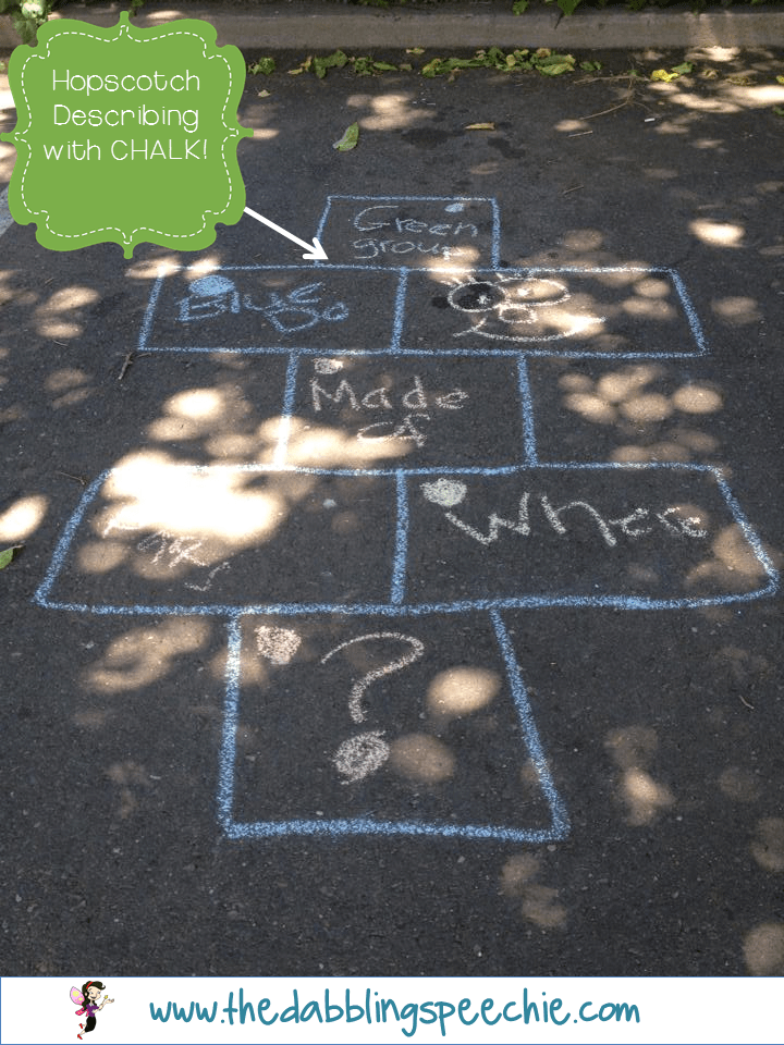 Using chalk in speech therapy is fun low prep thedabblingspeechie working on reading andor listening comprehension take it outside and write the answer choices on the ground in chalk thats what katie did with one of ibookread Download