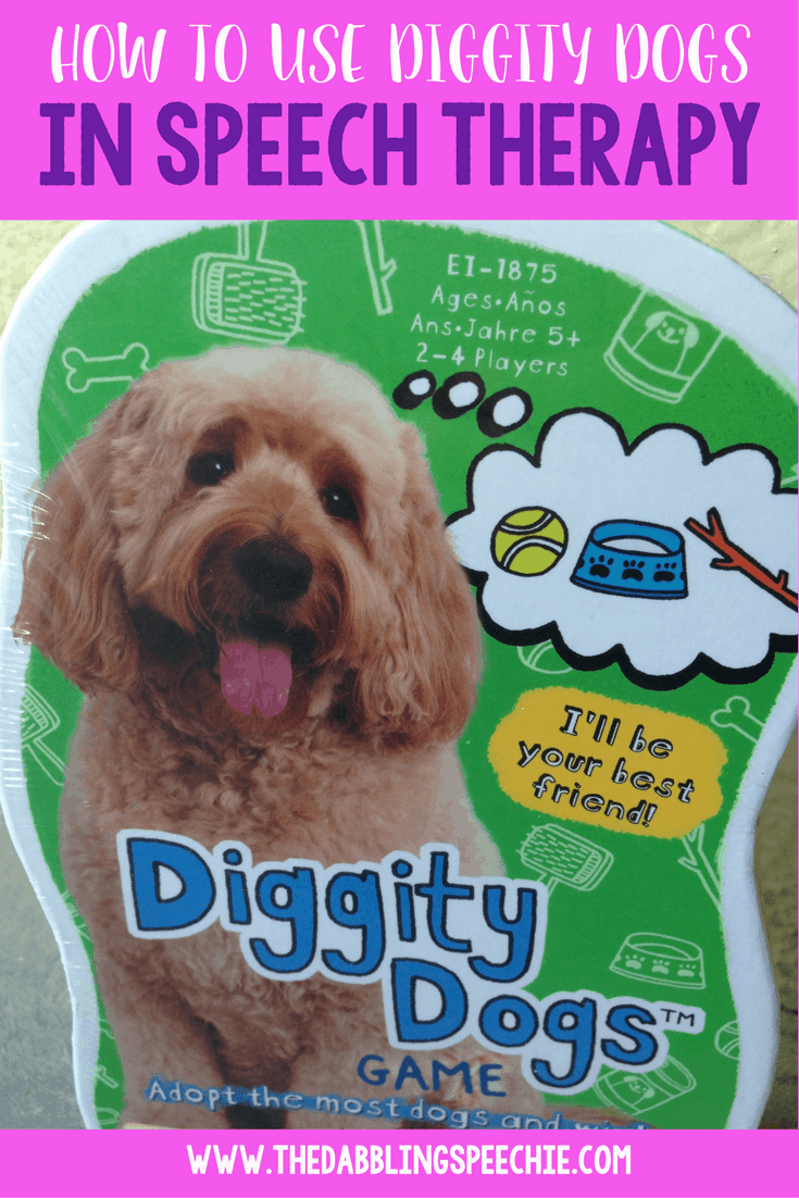 how to use diggity dogs in speech therapy