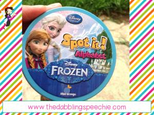 frozen spot it