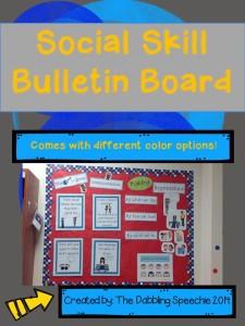 social skill bulletin