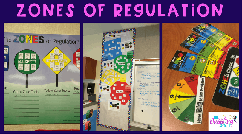 Use the zones of regulation to teach social skills about emotions