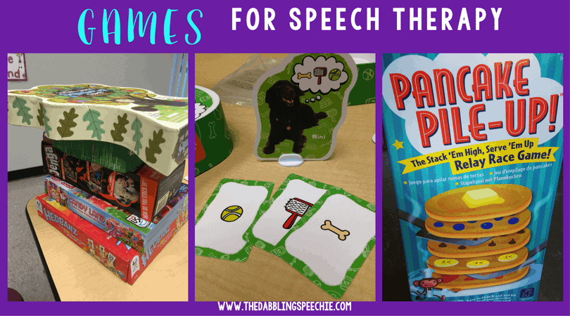 using games for speech therapy can bring a new found motivation for your students.