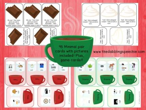 hot chocolate minimal pairs
