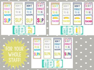 slp bookmark for whole staff