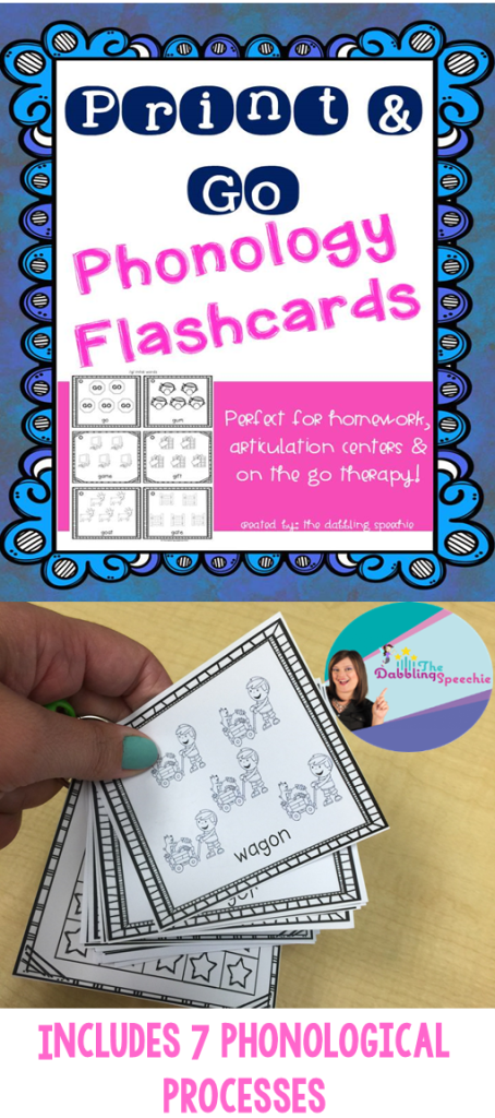 phonology picture flashcards