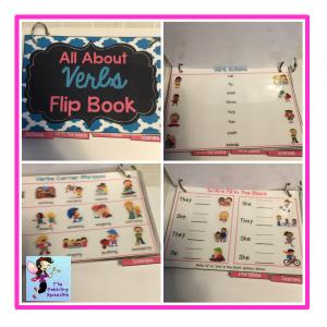 verbs flipbook 1