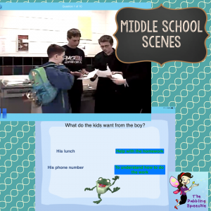 middle school social builder