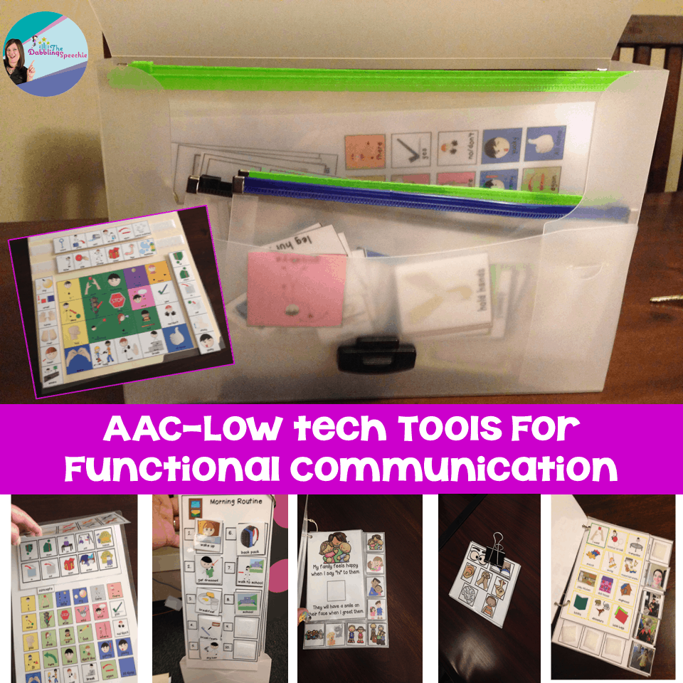 AAC tools for communication
