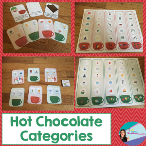 hot chocolate category activities