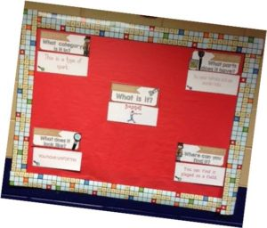 speech therapy bulletin boards