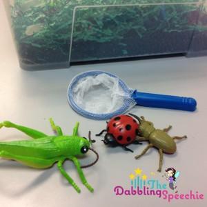 insect sensory bins #1