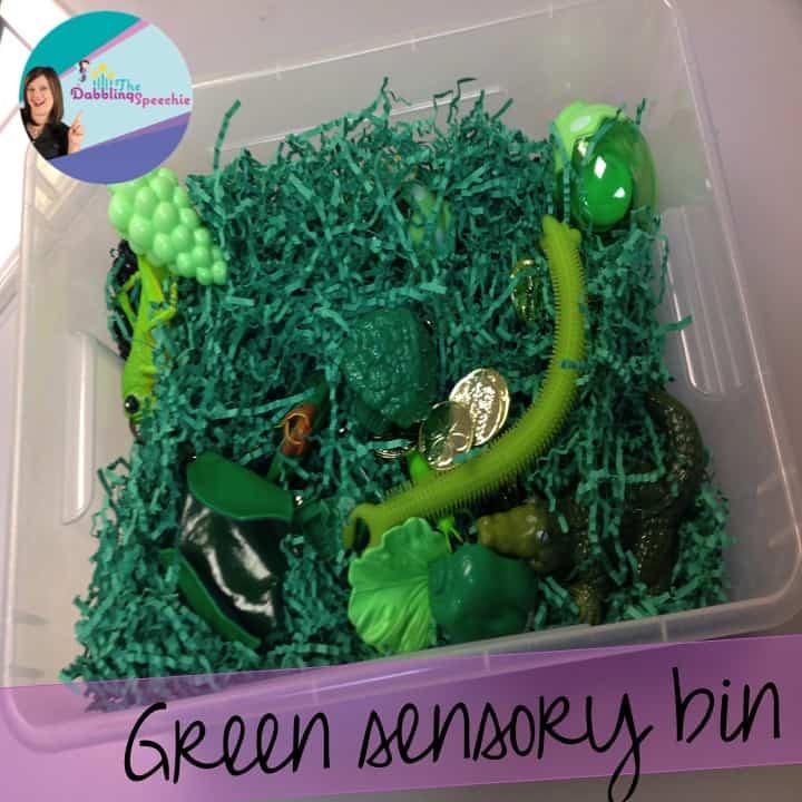 march sensory bins #2