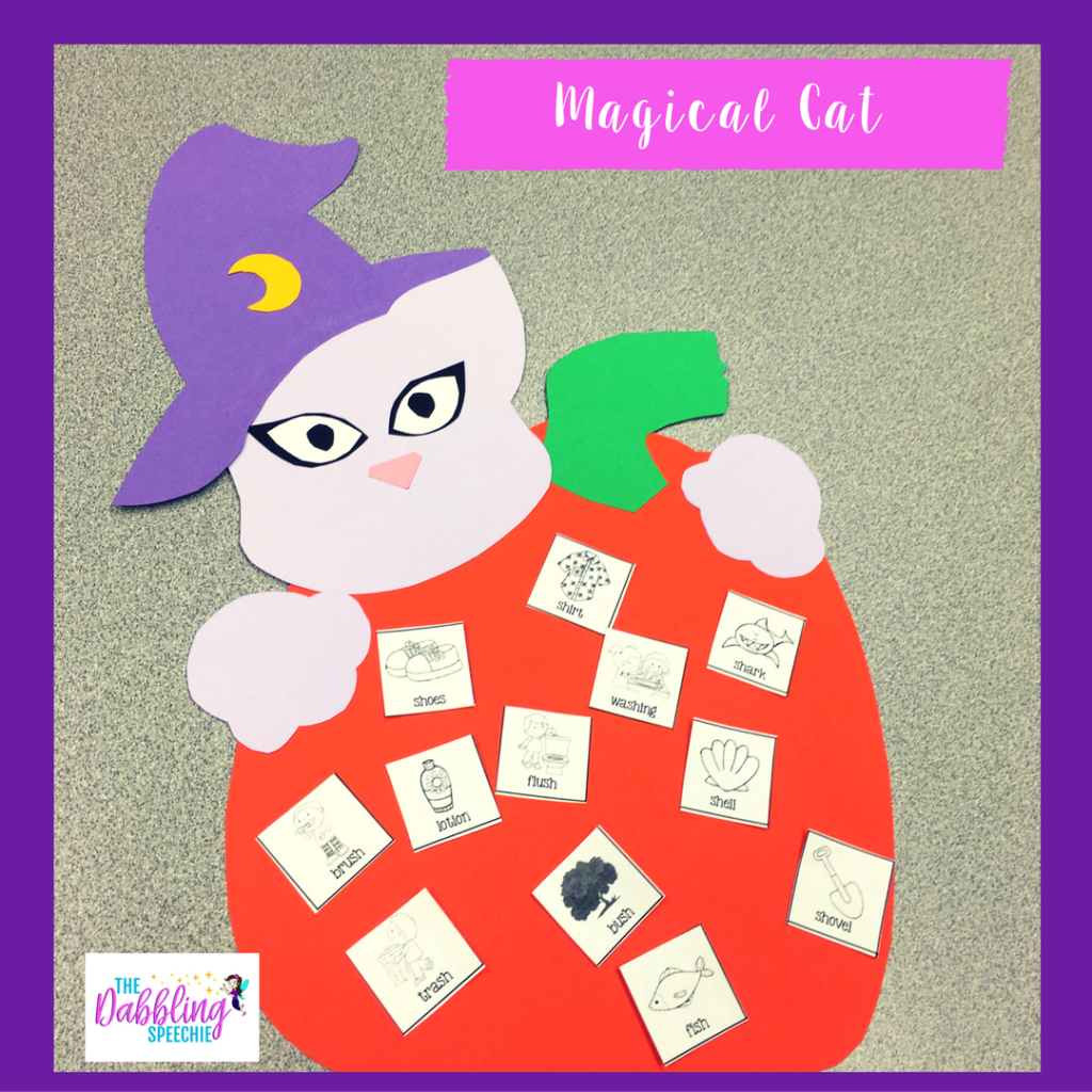 Halloween crafts for speech therapy