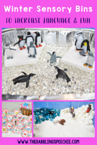 Winter Sensory Bins To Increase Language And Fun