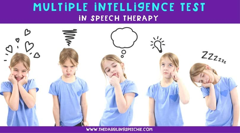 multiple intelligences in speech therapy