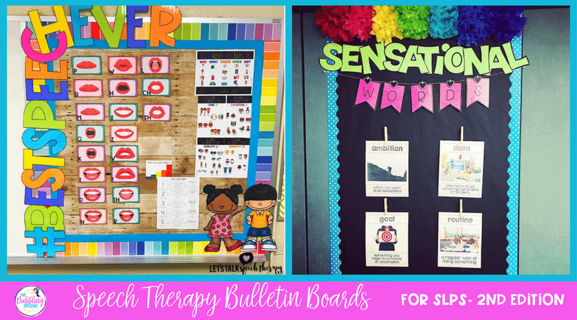 speech therapy bulletin boards facebook