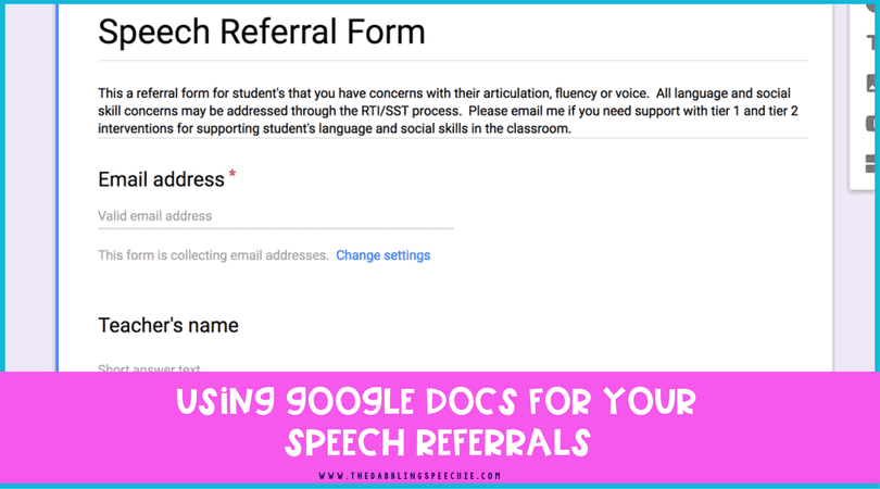 google docs for speech referrals the dabbling speechie