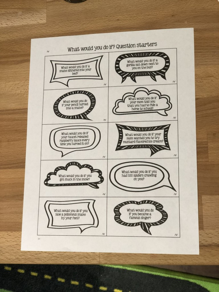 articulation carryover activities to work at the multiple sentence level